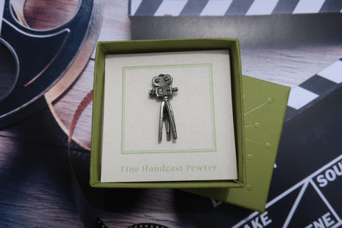 Movie Camera Lapel Pin
