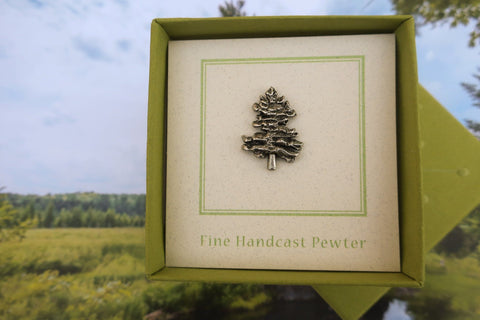 Northern White Pine Lapel Pin
