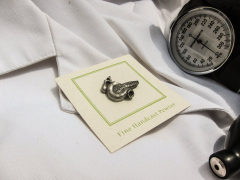 Pancreas Lapel Pin