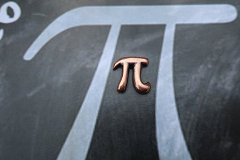 Pi Copper Lapel Pin