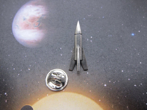 Rocket Lapel Pin