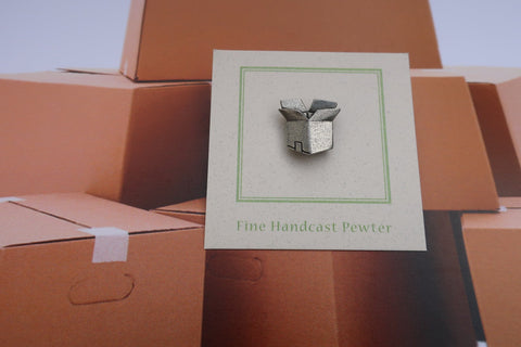 Shipping Box Lapel Pin
