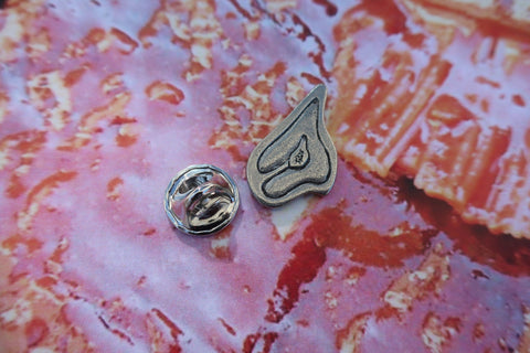 Steak Lapel Pin