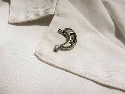 Stomach Lapel Pin