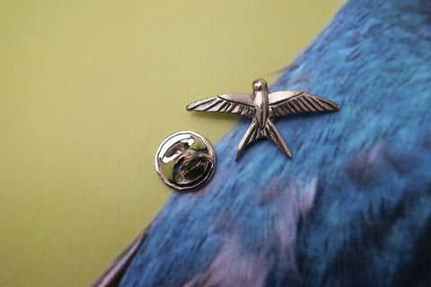 Swallow Lapel Pin