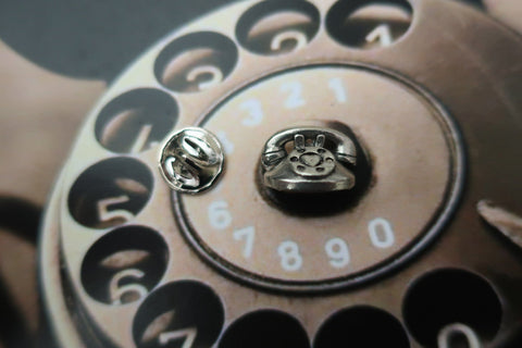 Telephone Lapel Pin