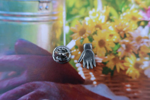 Work Glove Lapel Pin