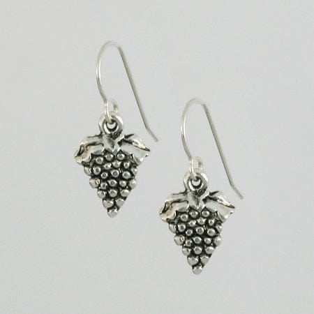 Grape Silver Earrings