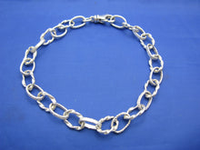 Load image into Gallery viewer, Sterling Silver Atocha Inspired Money Chain Bracelet 7.5mm with Swivel Clasp