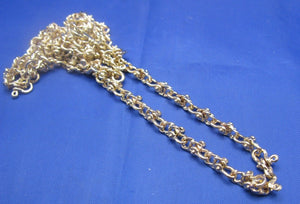 14k Gold 6mm Nautical Shackle Mariner Link Chain 24""