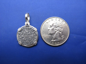 Sterling Silver Small Atocha Shipwreck Coin Replica