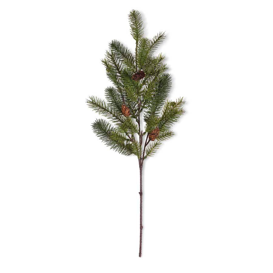 "Fir Stem with Pinecones 30""L the Bower decor market Wheeling. WV"