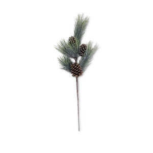 "Seafoam Long Needle Pine Stem with Large Pinecones, 32"" H Wheeling, WV"