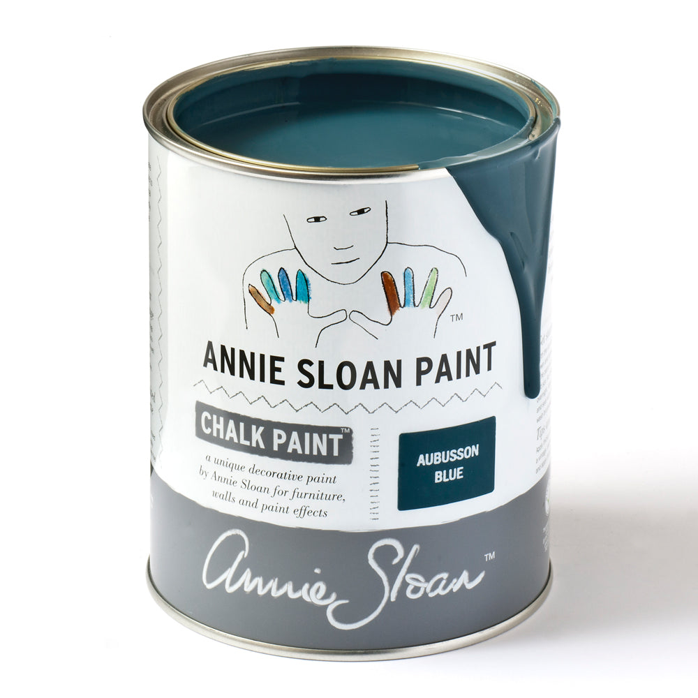 Aubusson Blue Chalk Paint® decorative paint by Annie Sloan- Global Litre - the Bower decor market  at The Highlands Wheeling WV