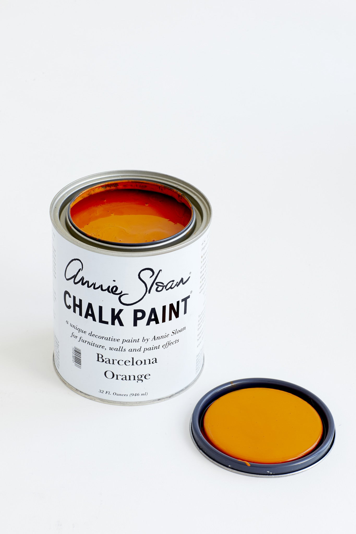 Barcelona Orange Chalk Paint® decorative paint by Annie Sloan- U.S. Quart - the Bower decor market  at The Highlands Wheeling WV