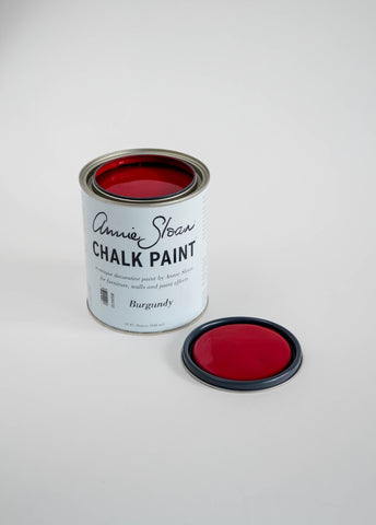 Burgundy Chalk Paint® decorative paint by Annie Sloan- U.S  Quart - the Bower decor market  at The Highlands Wheeling WV