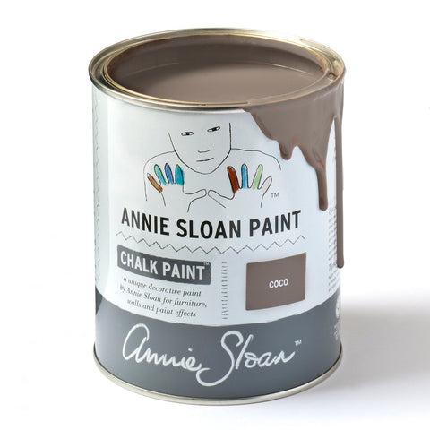 Coco Chalk Paint® decorative paint by Annie Sloan- Global Liter