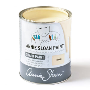 Cream Chalk Paint® decorative paint by Annie Sloan- Global Liter - the Bower decor market  at The Highlands Wheeling WV
