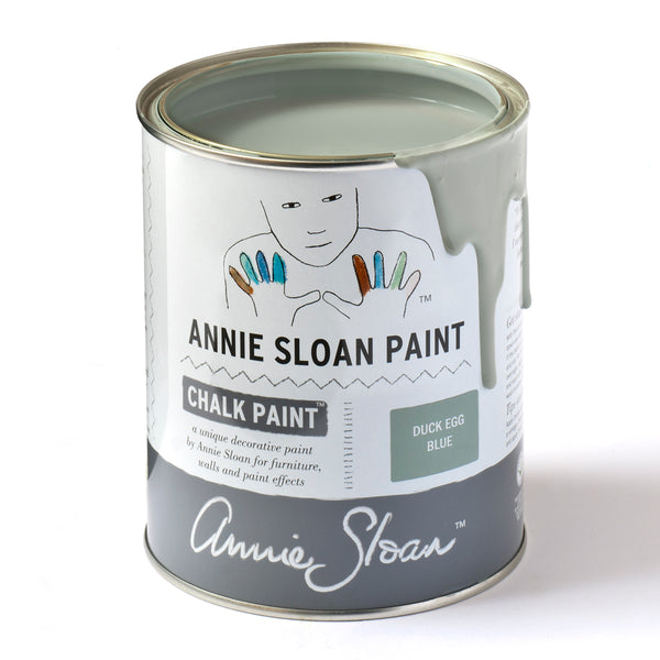 Duck Egg Chalk Paint® decorative paint by Annie Sloan- Global Sample Pot - the Bower decor market  at The Highlands Wheeling WV