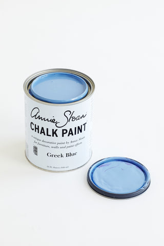 Greek Blue Chalk Paint® decorative paint by Annie Sloan- U.S. Quart - the Bower decor market  at The Highlands Wheeling WV