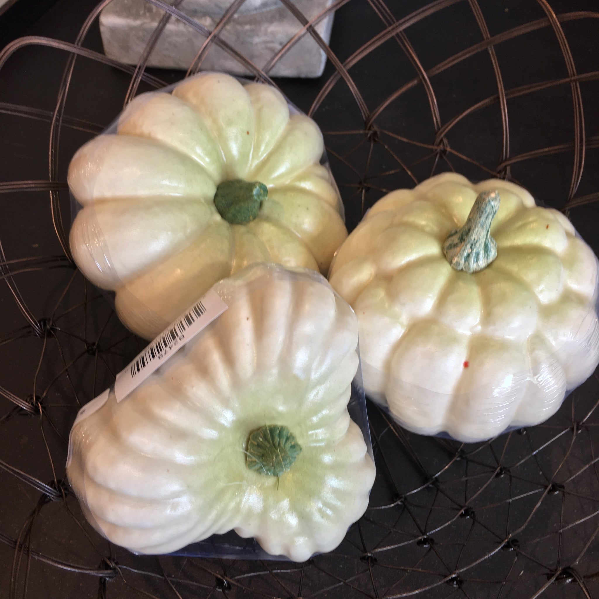 White Mini Pumpkin - Bower on Market