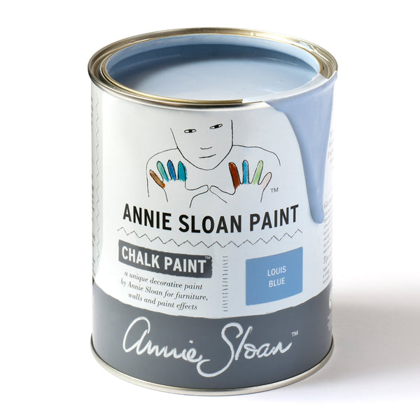 Louis Blue Chalk Paint® decorative paint by Annie Sloan- Global Liter