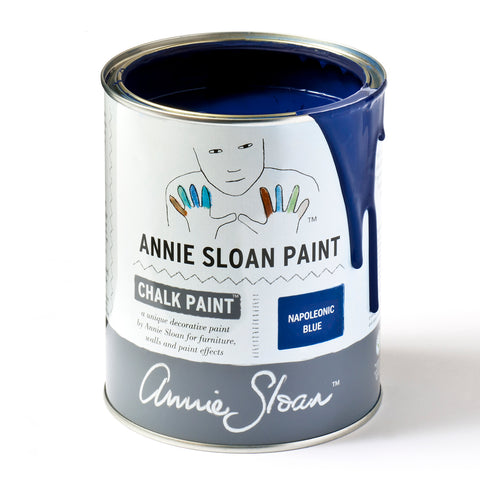 Napoleonic Blue Chalk Paint® decorative paint by Annie Sloan- Global Liter