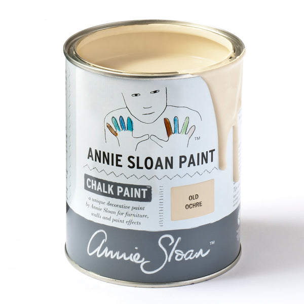 Old Ochre Chalk Paint® decorative paint by Annie Sloan- Global Liter