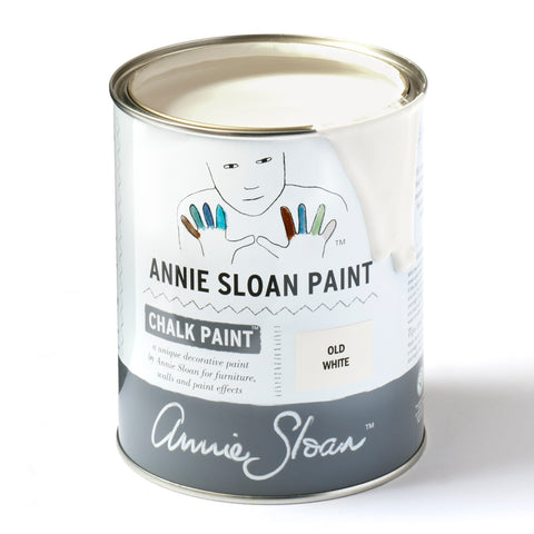 Old White Chalk Paint® decorative paint by Annie Sloan- Global Liter
