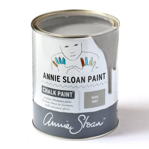 Paris Grey Chalk Paint® decorative paint by Annie Sloan- Global Liter