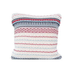 Striped Sweater Knit Pillow