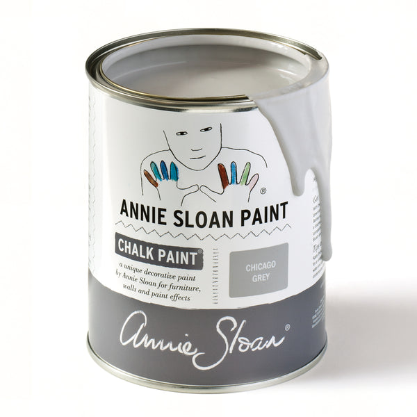 Chicago Grey Chalk Paint® decorative paint by Annie Sloan- Global Liter