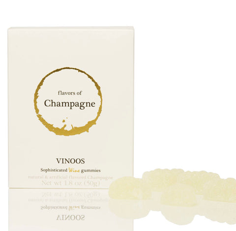 Vinoos Champagne Wine Gummies Luxury Gift Boxed Candy