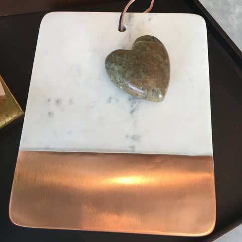 Marble & Copper Cheeseboard - Bower on Market