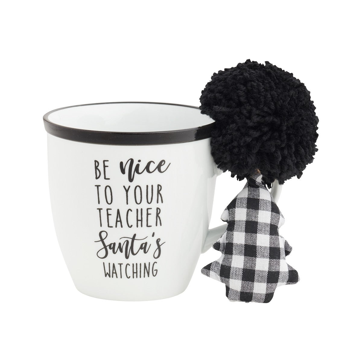 Be Nice to Your Teacher... Christmas Mug & Ornament Gift Set