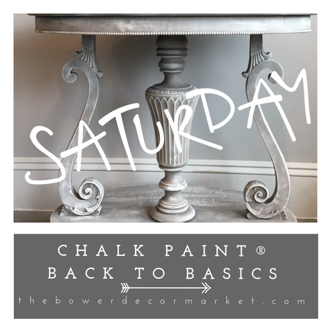 Chalk Paint®️ Basics-  10:00 am Sat. August 31st at the Bower décor market! - the Bower decor market  at The Highlands Wheeling WV