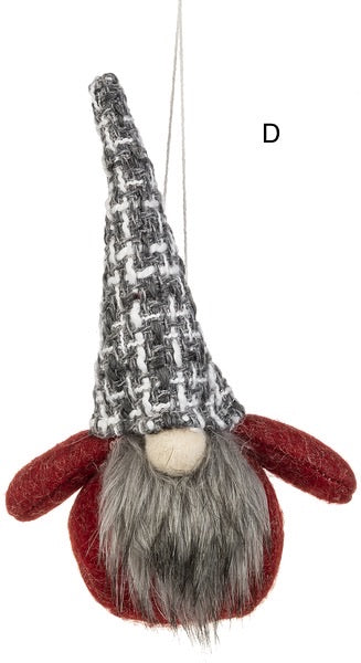 Christmas Gnome Plush Ornament