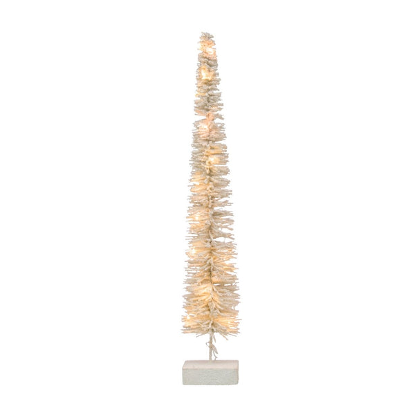 Rattan Christmas Tree with LED Lights