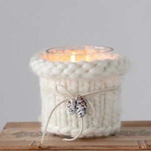 Sweater Weather Candle Holder
