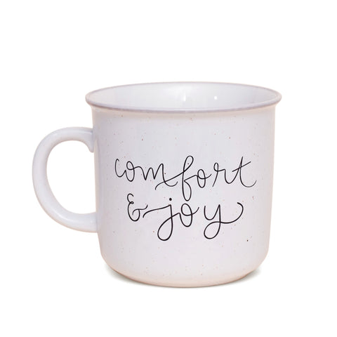 Comfort & Joy Camp Mug, 15 oz. Ceramic