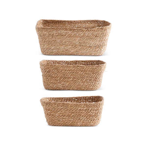 Rectangular Grass Storage Basket