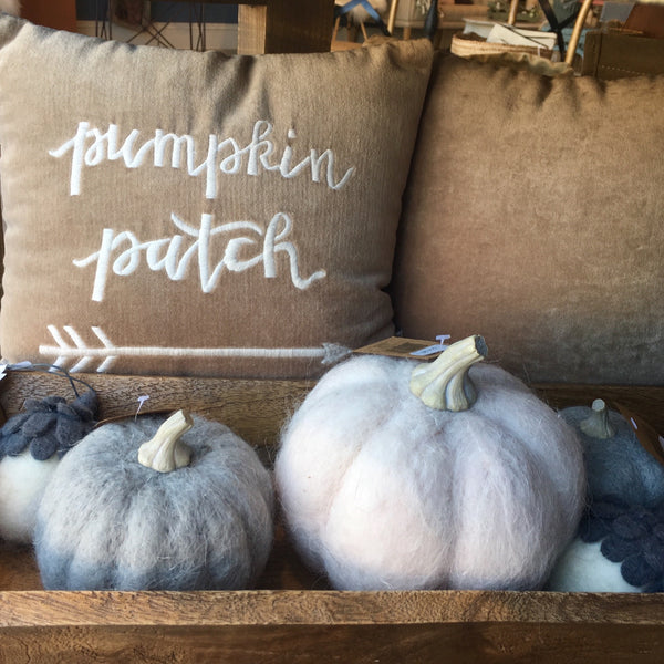 Wool Pumpkin