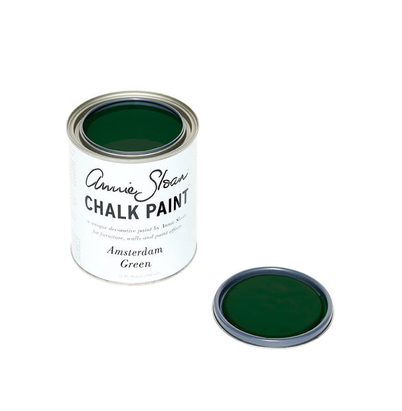 Amsterdam Green Chalk Paint® decorative paint by Annie Sloan- U.S. Sample Pot - the Bower decor market  at The Highlands Wheeling WV