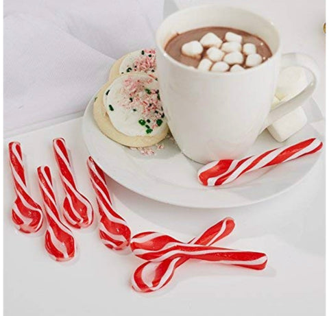 Peppermint Swirl Spoons, set of 6