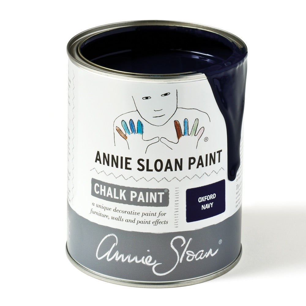 Oxford Navy Chalk Paint® decorative paint by Annie Sloan- Global Litre