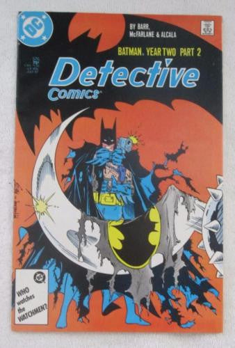 Detective Comics #576 (Jul 1987, DC) McFarlane art VF/NM 9.0