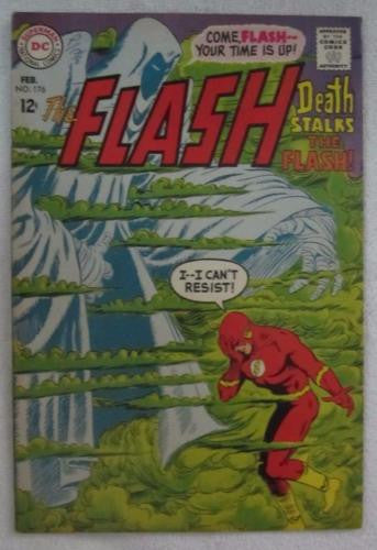 The Flash #176 (Feb 1968, DC) Infantino pencils Fine+ 6.5
