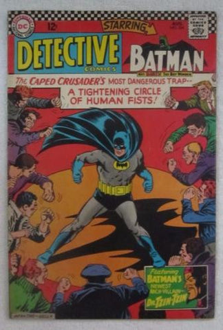 Detective Comics #354 (Aug 1966, DC) Infantino pencils F/VF 7.0