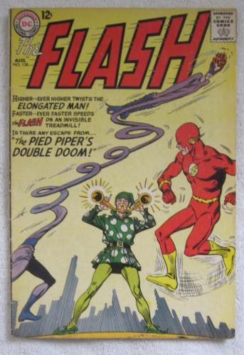 The Flash #138 (Aug 1963, DC) Infantino pencils VG+ 4.5