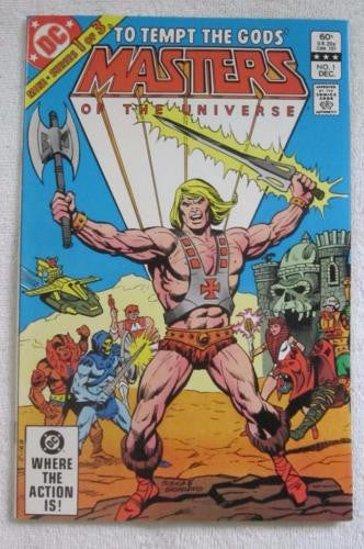 Masters of the Universe #1 (Dec 1982, DC) High Grade NM 9.2